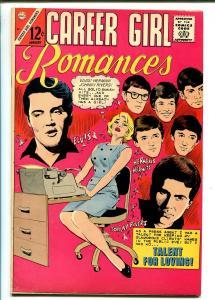 Career Girl Romances #32-1966-ELVIS-JOHNNY RIVERS-HERMAN'S HERMITS-fn/vf