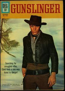 Four Color Comics #1220 1961- Gunsligher TV Photo cover Dell VF+