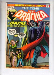 Tomb of Dracula #17 (Feb-74) FN/VF Mid-High-Grade Dracula