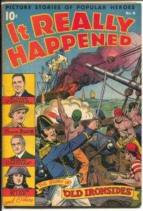 It Really Happened #9 1947-Nedor-Alex Schomburg-Capt Kidd-George Eastman-FN-