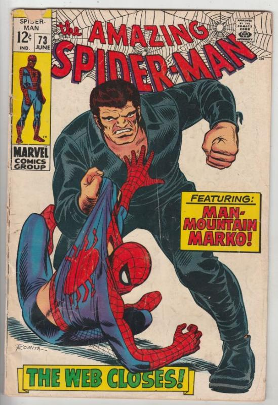 Amazing Spider-Man #73 (Jun-69) VG Affordable-Grade Spider-Man