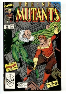 NEW MUTANTS #86 1990  1st Cable cameo- Todd McFarlane - Vulture