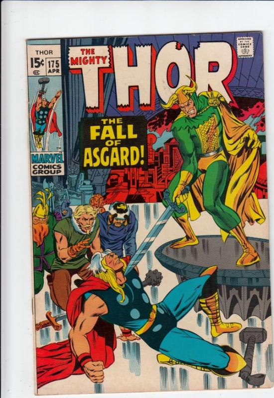 Thor, the Mighty #175 (Apr-70) NM- High-Grade Thor