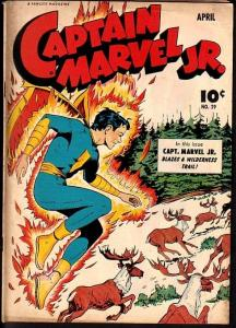 CAPTAIN MARVEL JR. #29-NICE!-GOLDEN AGE VG