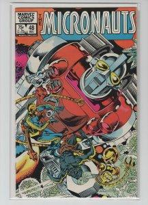 MICRONAUTS (1979 MARVEL) #48 VF+ A20322