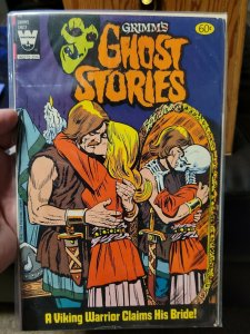 Grimm's Ghost Stories #60 F Whitman comic painted cover 1982