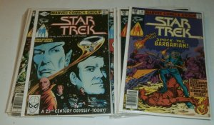 Star Trek V2 #1-18 (Marvel, 1980) complete set 2 3 4 5 6 7 8 9 10 11 12 13 14 15