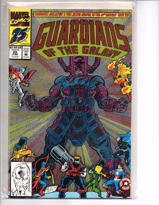 Marvel Comics Guardians of the Galaxy #25 Metallic Foil Cover And Now...Galactus