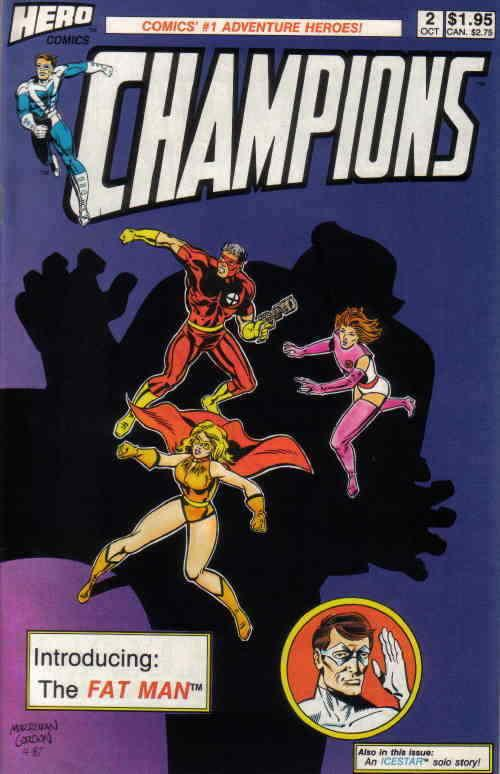 Champions (Hero) #2 FN; Hero | save on shipping - details inside