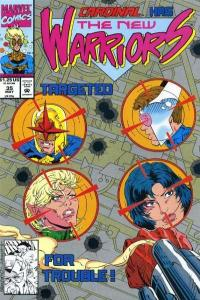 New Warriors (1990 series) #35, NM- (Stock photo)