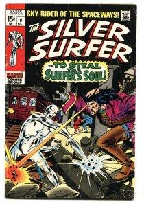 Silver Surfer #9 1969-Marvel-Mephisto-John Bucsema art-VG