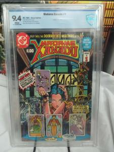 Madame Xanadu #1 (1981) - CBCS 9.4 - Contains Poster Insert