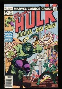 Incredible Hulk (1962) #217 NM 9.4