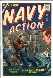 NAVY ACTION #18-1957-ATLAS-JOE MANEELY-KOREA-COMMIES-vf minus