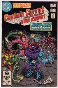 Captain Carrot and His Amazing Zoo Crew   # 7 VG