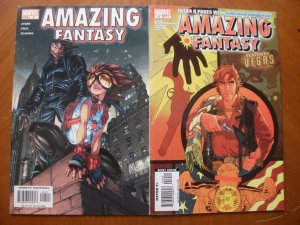 2 Marvel AMAZING FANTASY Comic #4 #14 (Anya Vegas Captain Universe) Avery Cruz