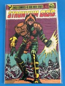 STRONTIUM DOG #3 OF 4  MUTIE SERIES  1985  EAGLE COMICS / UNREAD / NM / NM+