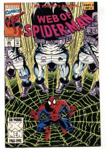 Web Of Spider-Man #98 comic book-Dr Kevin Trench / Night Watch appearance.