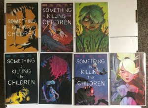 Something Is Killing The Children 1 2 2 Variant 4 4 Variant 5 5 Variant Lot