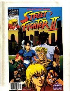 12 Comics Street Fighter #5, Striker #1, Superpatriot #1-3, Supreme #1-7 JF21