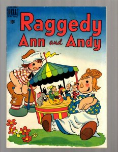Raggedy Ann & Andy # 39 FN Dell Golden Age Comic Book 1949 Carousel JK7