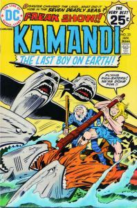 Kamandi, the Last Boy on Earth #25 VG; DC   low grade comic - save on shipping -