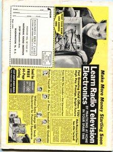 EXPLODE #1-JAN 1963-NAZI DROWNS TERRIFIED FEMALE-CHEESECAKE-PULP