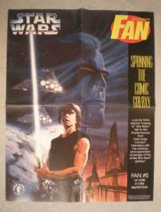 STAR WARS Promo Poster, Luke, 17x22, 1995, Unused, more in our store