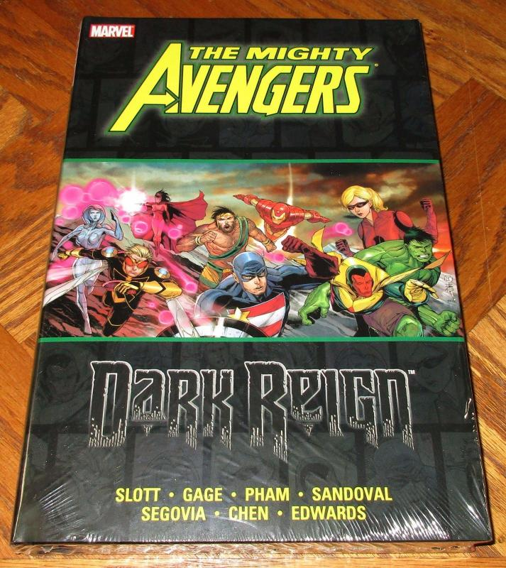 The Mighty Avengers: Dark Reign Hardcover - 424 Pages (Marvel) - New/Sealed!