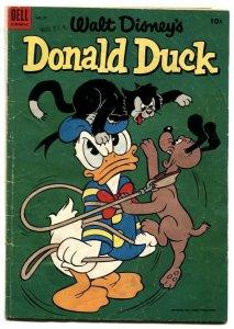 Walt Disney' Donald Duck #37 1954- Dell Comics G/VG