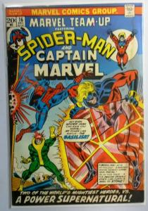 Marvel Team-Up (1st Series) #16, Water Stain 4.0 (1974)