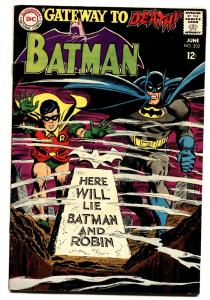 BATMAN #202-1968-DC-comic book - Silver Age