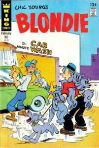 Blondie Comics #167, VG- (Stock photo)