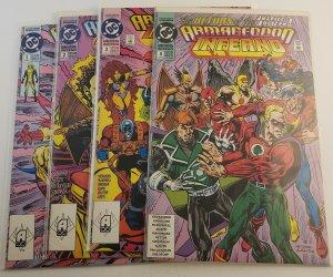 Armageddon Inferno #1-4 Complete Set VF/ NM DC Comics 1992