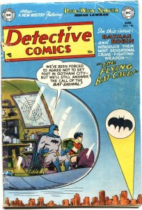 DETECTIVE #186-1952-DC-Batman & Robln-ROBOTMAN-POW WOW SMITH-ROY RAYMOND
