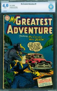 MY GREATEST ADVENTURE #1 CBCS 4.0 1955-DC SCI FI-FLYING SAUCER STORY