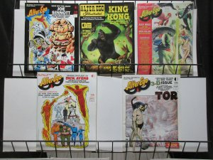 Alter Ego Lot of 5Diff #26, 29, 30, 31, 126 Roy Thomas Fanzine!