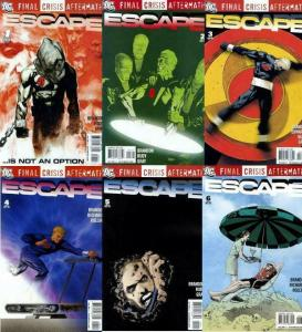 FINAL CRISIS AFTERMATH ESCAPE (2009)1-6 Nemesis & Chase