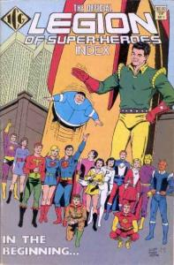 Official Legion of Super-Heroes Index #1, NM (Stock photo)