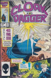 Cloak and Dagger (1985 Marvel 2nd Series) #11 NM