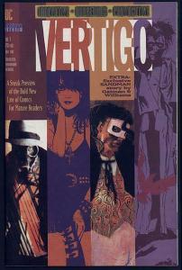 VERTIGO PREVIEW (1992) 1 VF-NM New Sandman strip
