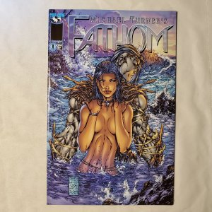 Fathom 1 Very Fine+ Cover pencils by Michael Turner
