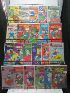 Donald Duck (Gold Key + Whitman 1963-81) #121-230 Lot of 22Diff Adventure Tales