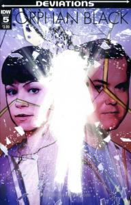 Orphan Black: Deviations #5A VF/NM; IDW   save on shipping - details inside