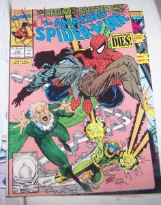 Amazing Spider-Man # 336  Marvel  sinister six pt  3 vulture doc ock