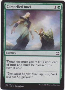 Magic the Gathering: Adventures in the Forgotten Realms - Compelled Duel