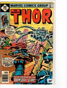 Mighty Thor (1966) 261 VG (4.0)