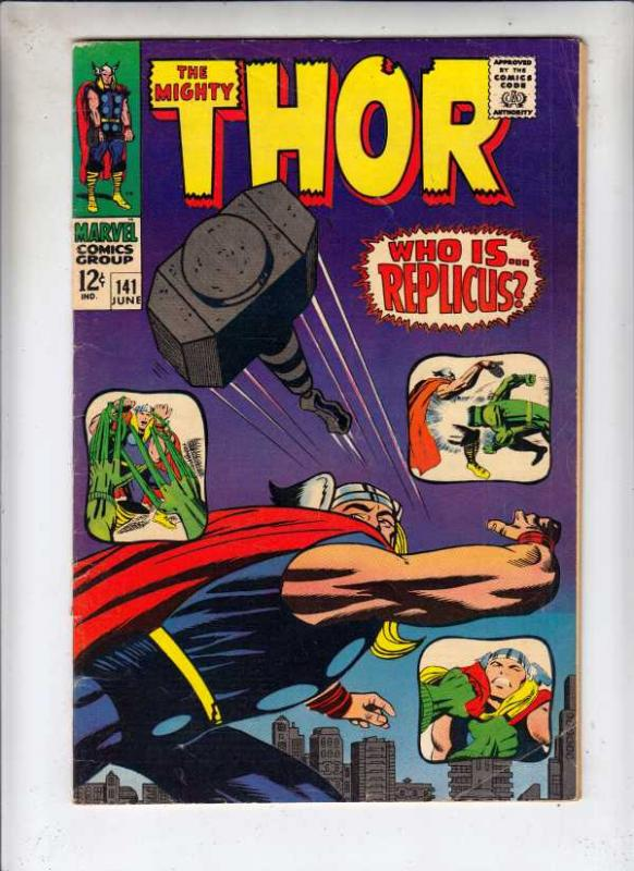 Thor, the Mighty #141 (Jun-67) FN Mid-Grade Thor