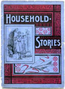 Household Stories pulp/dime novel 1885- Sinbad the Sailor- Ali Baba VG-