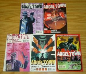 Angel Town #1-5 FN/VF complete series - down & dirty action vertigo comics 2 3 4